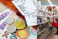 Nejvyšší inflace za osm let: V Česku zdražily potraviny i bydlení. Experti ale mají dobrou zprávu