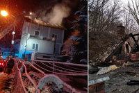Rodina s malou dcerkou přišla o střechu nad hlavou: Co nespálil oheň, zničila voda