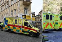 Pražští záchranáři by měli dostat 30 nových sanitek. Vzniknou i nové výjezdové stanice