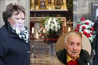 Pohřeb režiséra Františka Filipa (†90): Bohdalová za štítem! Proč chyběla vdova?