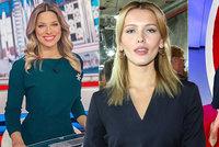 Sexy blond zprávařky Borhyová, Perkausová a Bartošová v bikinách! Proč tak rovnou nemoderují?