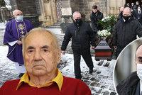 Zdrcený syn režiséra Františka Filipa (†90) na pohřbu: Covidem jsem ho nakazil já!