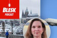 Podcast: Máme chladnější počasí díky utlumené letecké dopravě? Odhalila to meteoroložka Honsová