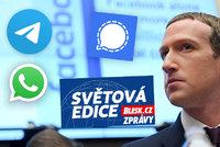 Cenzura a šifrování: proč uživatelé utíkají od WhatsAppu k Signalu a Telegramu?
