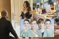 Atraktivní obsazení nového seriálu Anatomie života: Černá jako sexy máma a Geislerky poprvé spolu!