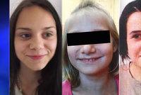 Aničku (12) už našli, na útěku jsou i její sestry! Neviděli jste Katku s Dášou?