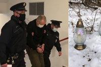 Dvojnásobná vražda v Horním Slavkově: Žárlivý myslivec u soudu kolaboval. Skončil ve vazbě