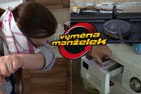Další špína ve Výměně manželek: Marii se při pohledu na kuchyň udělá zle!