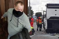 Podmínka za smrt cestující (†69): Nepozorný kamioňák (50) napálil v Brně stojící autobus