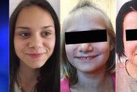 Anička (12) a Dáša (16) jsou už doma: Na útěku je stále jejich sestra Katka (15)!