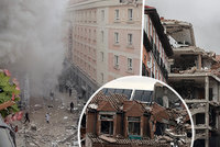 Masivní exploze domu v Madridu: Na místě jsou mrtví!