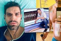 Petr Vojnar po boji se slinivkou je doma: 10 kilo dole, »děravej« jak záporák!