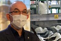 Povinné respirátory v obchodech? Vláda vyčkává, nechce zavařit lidem s nízkými příjmy