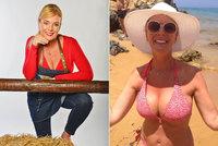 Lucie Benešová (46) za sexbombu: Na pláži předvedla dechberoucí dekolt v titěrných bikinách!