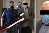 Třídenní pitka skončila brutální vraždou! Důchodce (62) rozsekal známého sekerou, dostal 7 let