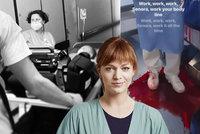 Drsné zkušenosti Geislerové díky Anatomii života: Dvě noční směny ve špitále a kaluž krve!