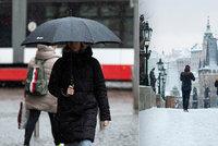 Počasí v Praze jako na houpačce. Sníh vystřídá v druhé polovině týdne oteplení a déšť