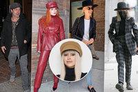 Módní kritička Ina T. o celebritách v kloboucích: Štramák Pitt, domina Thorneová, rybářka JLo a námořnice Millerová