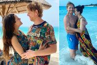 Janeček s kněžkou Lilií sklidili kritiku za dovolenou v ráji a bez roušek! Jak se brání?