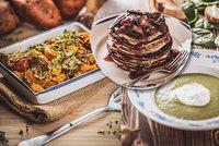 Báječné a snadné recepty: Polévka, lívance, kaše s ovocem i zapečená dýně