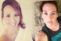 Plastika prsou způsobila mámě (48) obrovské bolesti: Chtěla jsem se zabít, říká