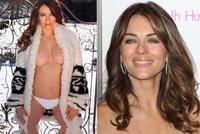 Nestárnoucí Elizabeth Hurleyová (55) dráždí sexy tělem: Pod huňatým kožíškem toho moc neměla!