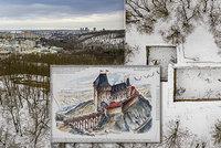 Někdejší pýcha království, dnes ruina. Nový hrad v Kunraticích byl rozbořen před 600 lety