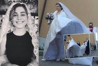 Blondýnku ze SuperStar potkal svatební trapas: Nevěsta ukázala více, než chtěla!
