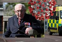 Zemřel veterán Tom (†100), který vybral miliony pro zdravotníky. Prohrál boj s covidem