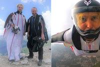 Bývalý inženýr NASA (†38) zemřel v Saudské Arábii: Zabil se při letu ve speciálním obleku