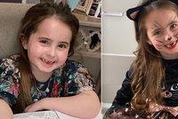 Malá Lily (6) neustále zvracela: Má vzácnou formu rakoviny, dávají jí rok života