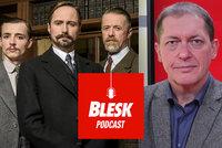 Skutečné zločiny Velké Prahy byly brutální, prostitutky šéfa policie milovaly, říká v Podcastu Blesku historik Galaš