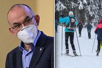 Britská mutace koronaviru: Přenáší se prý na horách! Přibývá mladých pacientů s těžkým průběhem