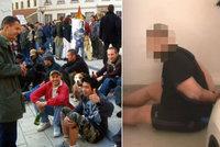 """Policie pokutuje bezdomovce za porušení zákazu vycházení. """"Můžu jít jen do vězení,"""" říká Dušan"""