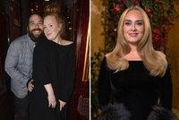 Extrémně hubená Adele po rozvodu: Nůž na krku od exmanžela! O čem musí mlčet?