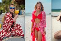 Covid necovid, české celebrity cestují jako o život! Takhle se vystavuje Havlová, Perkausová i Grossová