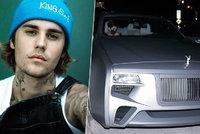 Justin Bieber poprvé vyvenčil novou »bestii«: Je tohle ještě auto?!