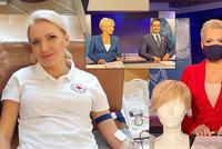 Blonďatá zprávařka 5 měsíců po výhře nad rakovinou: Už v televizi odhodila paruku!