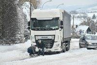 Kolony na 16 hodin i uváznuté kamiony: Německo zažívá kvůli počasí dopravní peklo