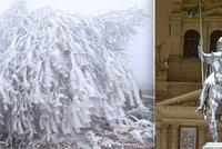 V Česku přituhne a bude vydatně sněžit. Teploty klesnou i na -14 °C, sledujte radar Blesku