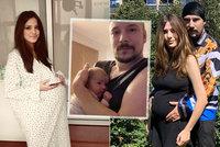 Mazlivka Lucinka (17) Bohuše Matuše (47) ukázala poslední fotku před porodem! To je bříško!