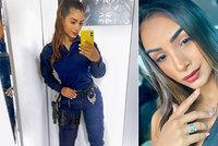 Sexy policistka se stala hvězdou instagramu: Fotkami vydělává víc než svou prací
