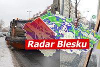 Nový sníh v řadě krajů. Česko čeká déšť, hrozí náledí, sledujte radar Blesku