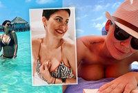 Vlaďka Erbová uletěla na Maledivy: Se svými bujnými vnady předvádí velké divy!