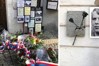 Jan Zajíc (†18) se upálil před 52 lety: Za rakví kráčel průvod dívek v bílých šatech, vzpomínala místostarostka Prahy 1