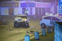 Nehoda v Dolních Počernicích: Tři zranění po srážce policejního vozu s osobákem