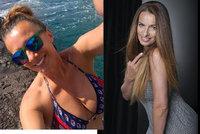 Splnila sen všech mužů! Sexbomba Alice Bendová z Kanárských ostrovů poslala »dekoltový« pozdrav