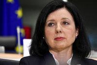 Hněv nekončí: Rusko zakázalo vstup Jourové, šéfovi europarlamentu a dalším úředníkům
