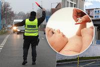 Policie nepustila chůvu do Prahy. Jela hlídat syna (5) zdravotnici, ta nemohla do práce