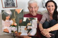 To byly proklatě sexy svatební šaty! 29. výročí sňatku Heidi Janků s Ivem Pavlíkem (†84)
